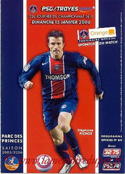 Programme  PSG-Troyes  2005-06