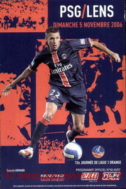 Programme  PSG-Lens  2006-07