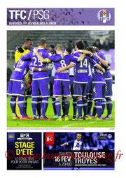 Programme  Toulouse-PSG  2012-13