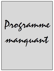 Programme  Sedan-PSG  2006-07