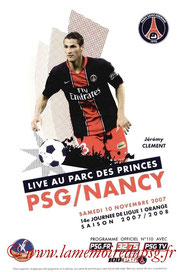 Programme  PSG-Nancy  2007-08