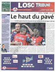 2009-04-12  Lille-PSG (31ème L1, Losc Tribune N° 91)