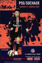 Programme  PSG-Sochaux  2006-07