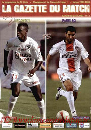 Programme  Metz-PSG  2007-08
