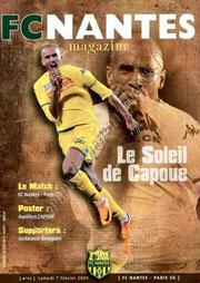 2009-02-07  Nantes-PSG (23ème L1, FC Nantes Magazine N° 11)