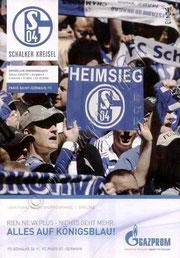 2008-10-23  Schalke 04-PSG (1ère Journée Poule UEFA, Programme officiel)