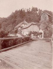 Haus der Familie Kantner im Jahr 1895