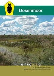 Broschüre des Landesamtes für Natur- und Umwelt (LANU) Schleswig-Holstein über das Dosenmoor - zur Ansicht auf das Bild klicken!