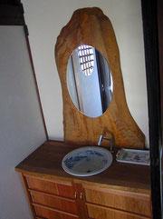 洗面室 手洗い・化粧鏡製作