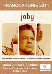 Affiche du spectacle à Fortaleza