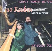 CD DUO REUBEN.HARPE & PIANO. 1997