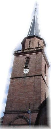 Tour de l'église datant de 1751