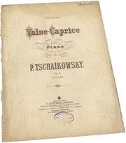 Детские песни Чайковского, ноты