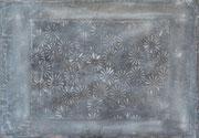 claracarat STONE FLOWERS - STEINERNE BLUMEN-100X70
