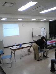介護技術についての演習
