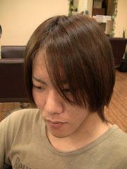 黒髪をチェンジ