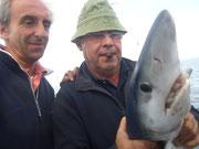 """Rafael, """"el caza tiburones"""" con otra pieza"""