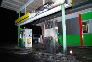 Tankstellenbrand