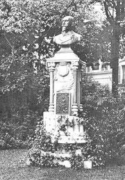 Le buste de Gabriel LEROY