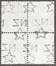 'Multiple' Watermark (W8) as found on smaller stamps
