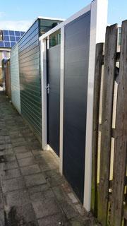aluminium poortdeur en schutting delen