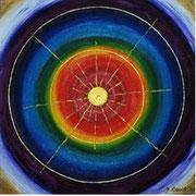 Soul Healing Art by mondavid, Monika David, Seelenbild Chakra