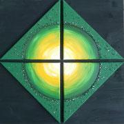 Soul Healing Art by mondavid, Monika David, Energiebild  Heilungsbild Illusion des Getrenntseins