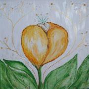 Soul Healing Art by mondavid, Monika David, Heilbild, Herzbilder,  Herzbild mit echten Edelsteinen