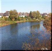 am Fluss in meiner Stadt