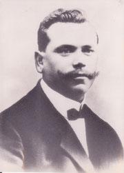 Bürgermeister Joachim Sauter, Gründer der FFW Hüttlingen, März 1912