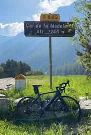vélo et VTT l'été au col de la Madeleine à Bessans