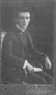 Otto Gehrk als junger Mann