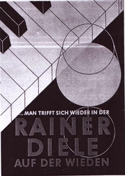 poster from hans fabigan for hotel erzherzog rainer rainer diele