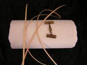 Rotin et attache pour bracelet 2 cm