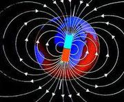 تتصرف الأرض كمغناطس مستقيم