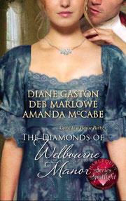 The Diamonds of Welbourne Manor by Diane Gaston
