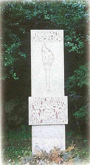 Das Denkmal für Franz Wosznicak wurde 1960 enthüllt.