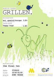 1.PREIS: plakat+gutschein zur grillsaisoneröffnung (mci innsbruck)