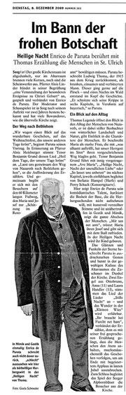 Allgäuer Zeitung vom 8.12.2009