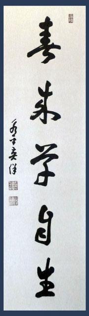 春来草自生・門前田中屋所蔵  (撮影・東川寺)