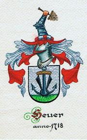 Wappen der Familie Heuer