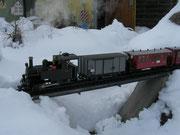 Februar - Dampf und Schnee
