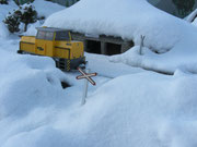 Dezember  -  Schnee in Tiefenbach