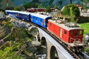 Oktober - Nostalgie Glacier-Express