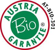 """""""Unsere Bio-Produkte werden von der Austria Bio Garantie zertifiziert"""""""