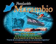 Colabora activamente en difundir -que es y que funcion cumple,la Base Marambio-en la Antartida Argentina
