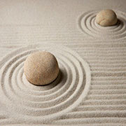 Kreise im Sand