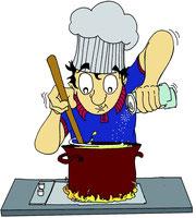 confection repas, préparation repas