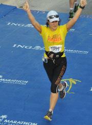 Arrivée du Marathon de Miami Yes!!!