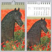 Agelan in einem Kalender 2010 von Christiane Slawik am Deckblatt und im Monat Juli als Model!